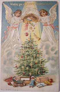 Vintage Christmas Postcard     Angel | by riptheskull