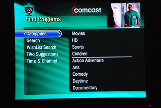 Comcast TiVo DVR - Find Programs | by stevegarfield