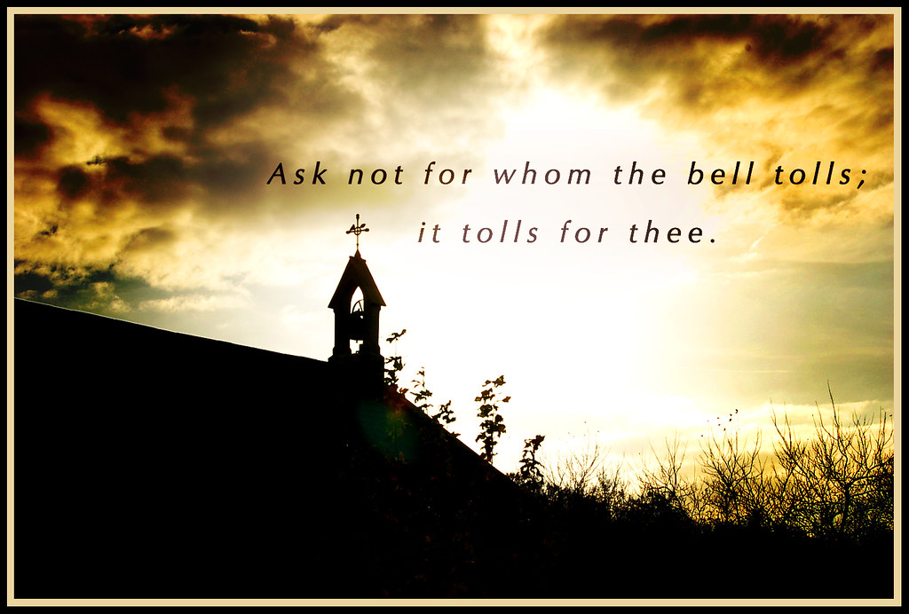 bell tolls meaning