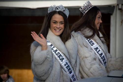 Alaska Princesses Fur Rondy Grand Parade Anchorage
