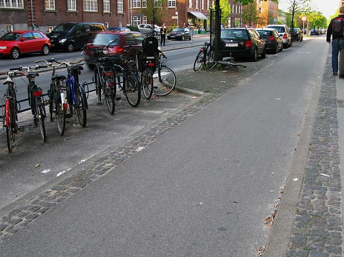 Bike Parking in Copenhagen | by Mikael Colville-Andersen
