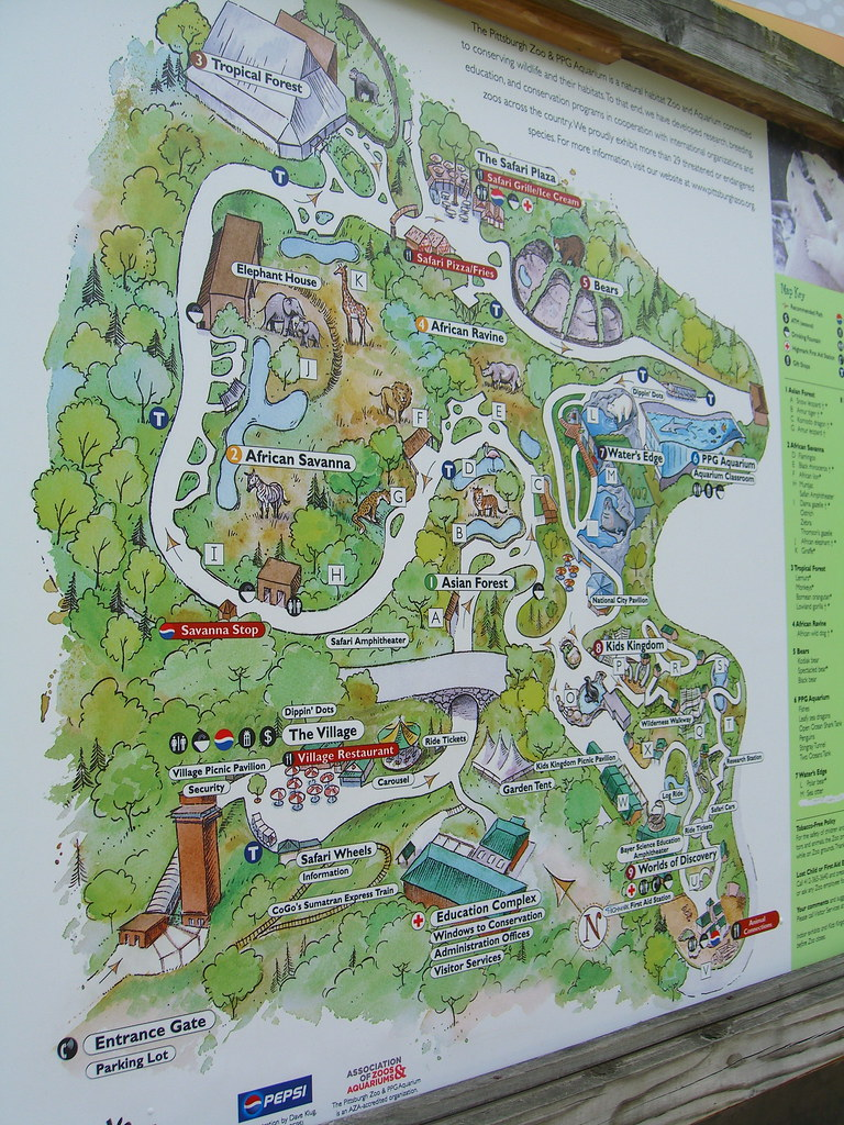 Pittsburgh Zoo Map Pittsburgh Zoo Map | Fred​ | Flickr Pittsburgh Zoo Map