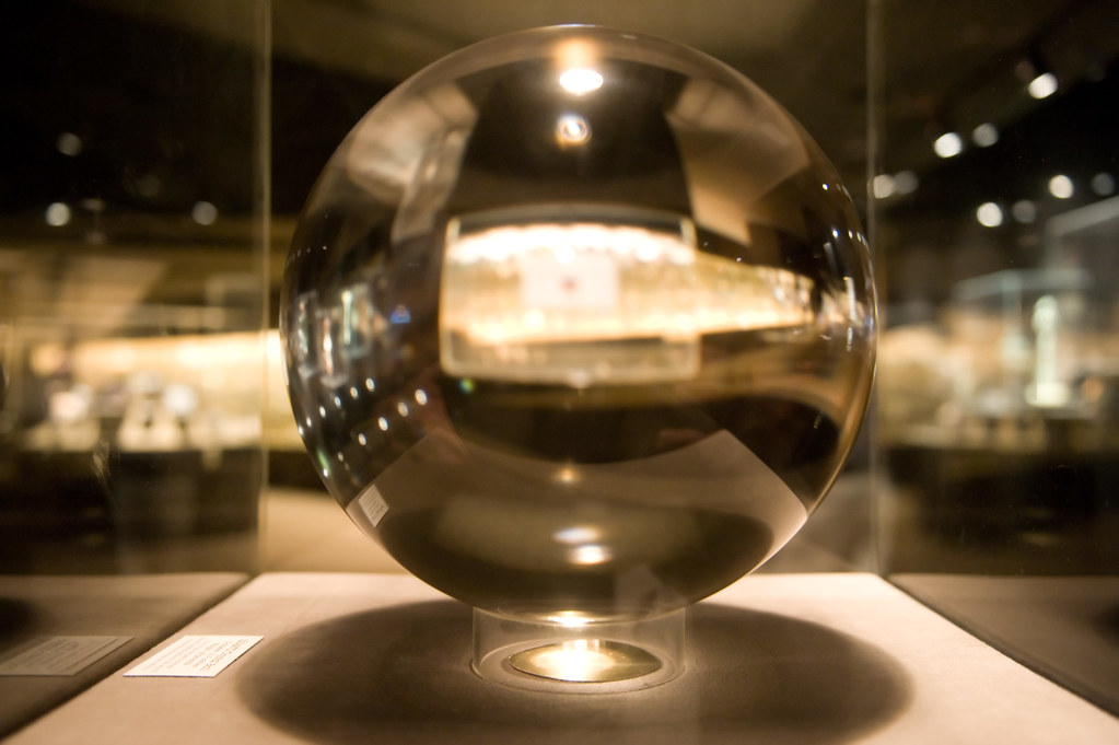 Cm >> Quartz Crystal Sphere | Diameter: 10.9 inches (27.7 cm) Weig… | Flickr