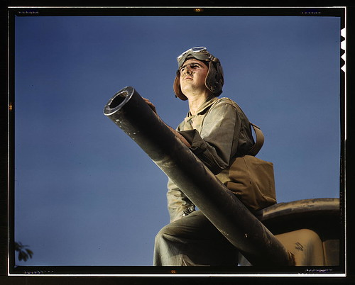 Crewman of an M-3 tank, Ft. Knox, Ky.  (LOC) | by The Library of Congress