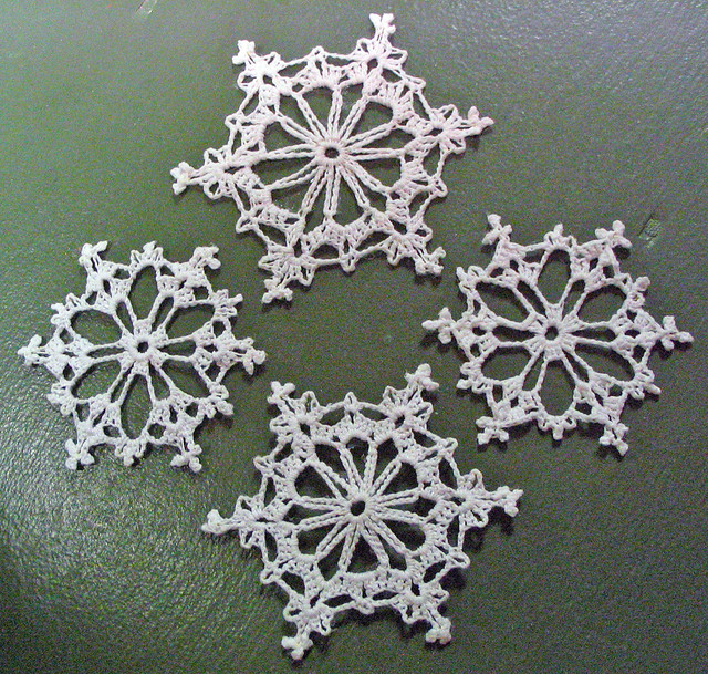 Crochet Snowflakes Free Patterns Gallery Knitting Patterns Free