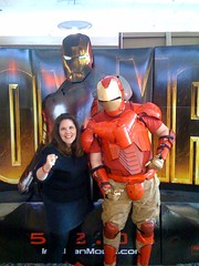 Ironman at the Movie Theater | by laurasmoncur