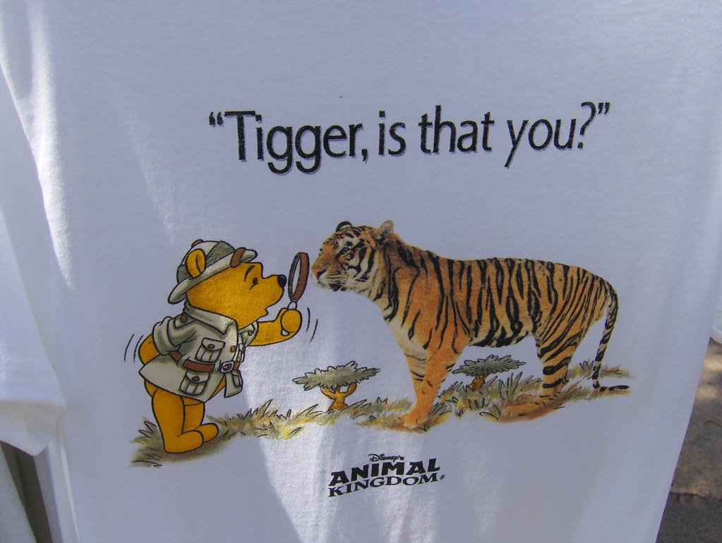 Tigger Is That You T Shirt For Sale At Disney S Animal