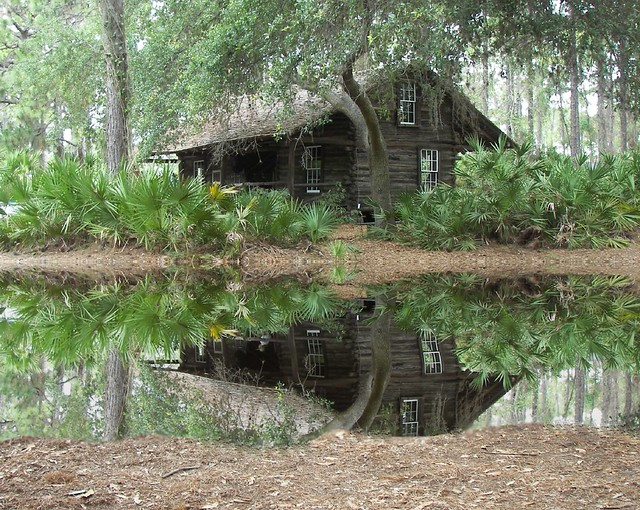 Cabin In Woods >> A log cabin in the woods | ClaraDon | Flickr
