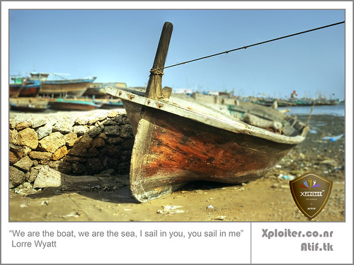 We are the boat, we are the sea, I sail in you, you sail in me | by Xploiтєя ™