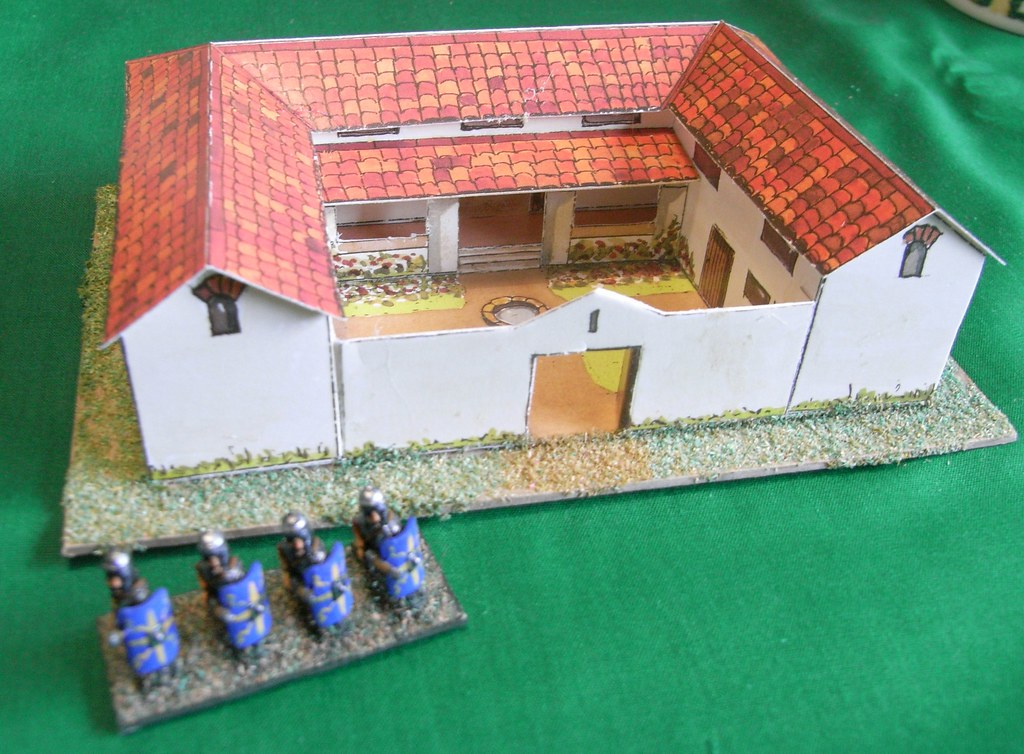 How To Make A Roman Villa For Kids