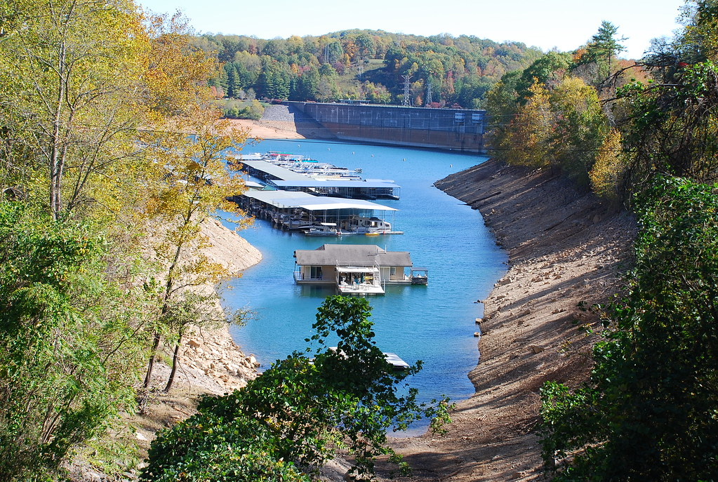 Norris Lake Effects Of The Drought Norris Dam State