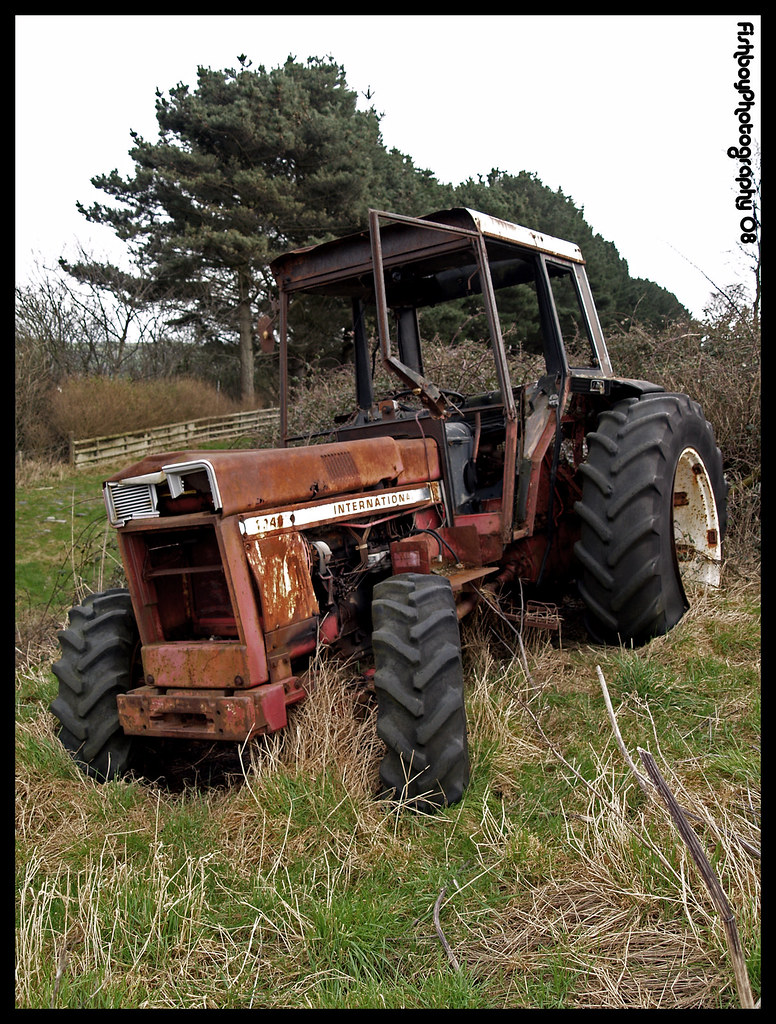 Tractor Broke Down : Josh february th run down tractor this was taken on
