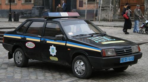 Knight Rider Another Ukrainian Police Car Sam Gunter