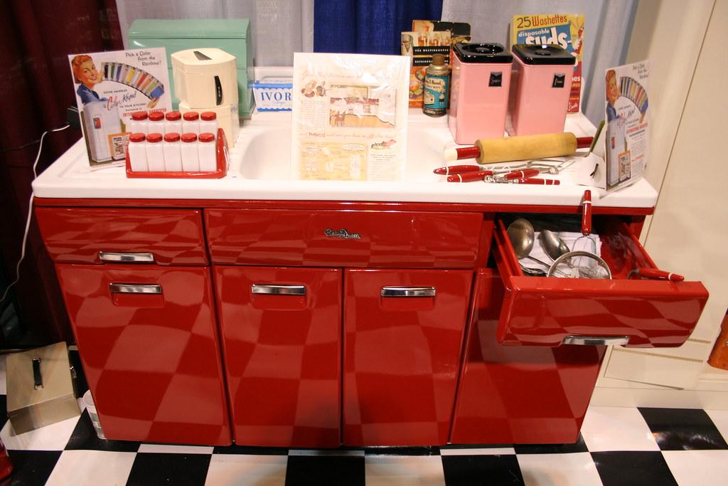 Beauty Queen Vintage Kitchen Cabinet By Cccstl