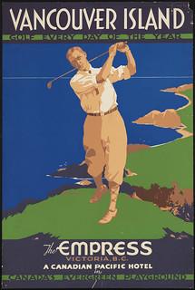 Vancouver Island Golf Card