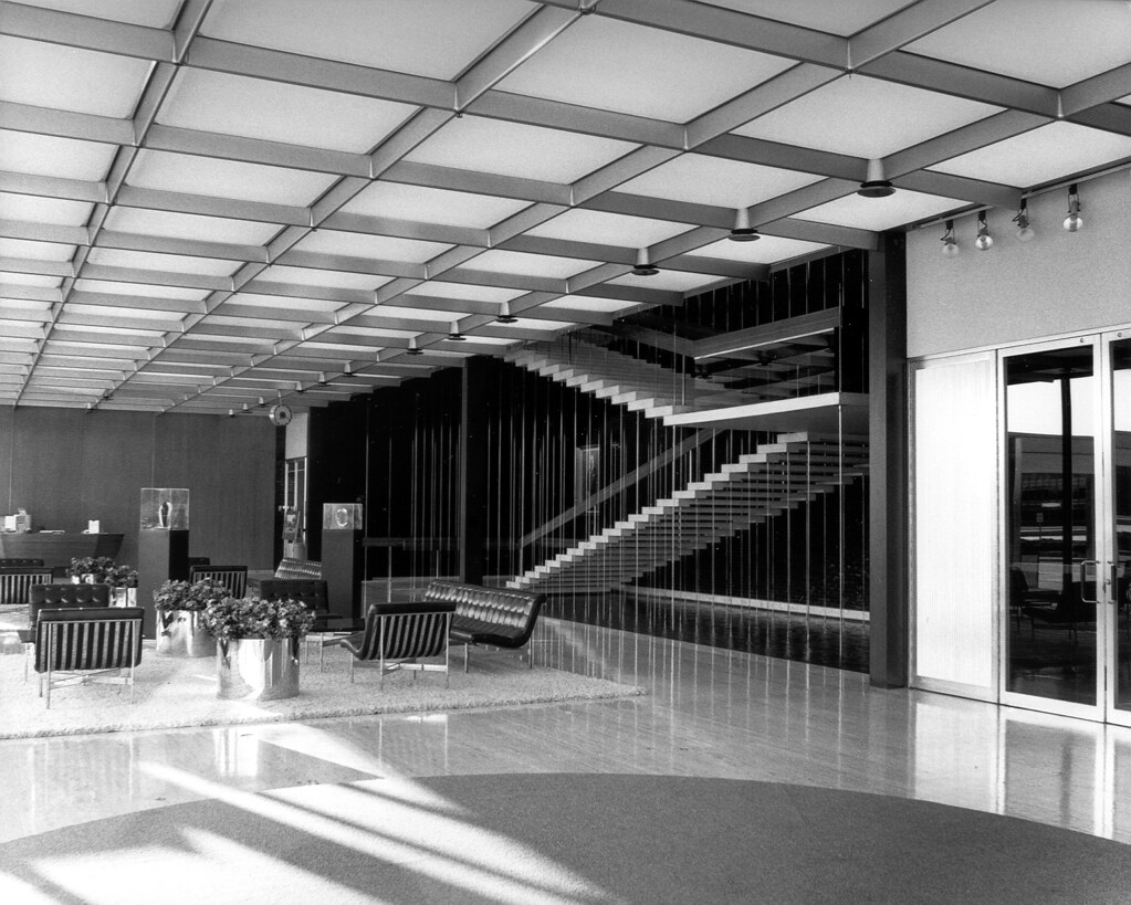 General Motors Technical Center 1956 Eero Saarinen Flickr