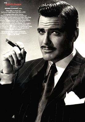 George Clooney as Rhet...