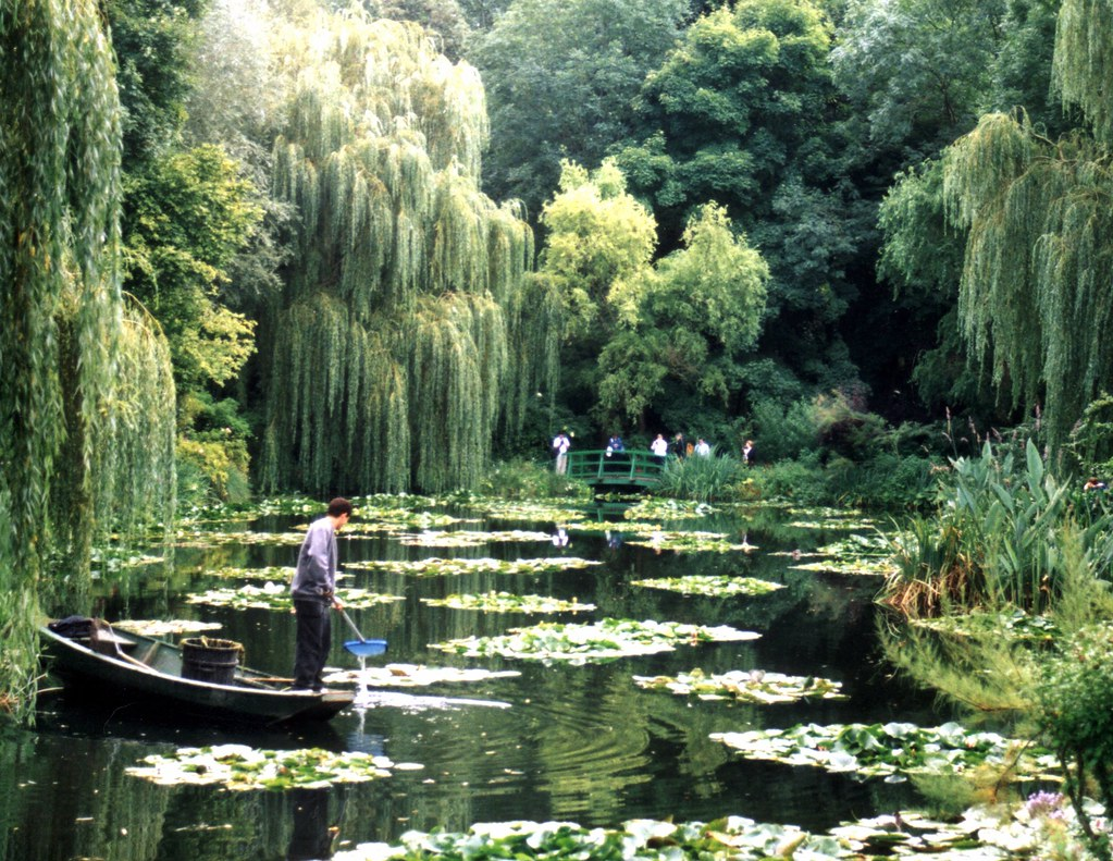 ... At Work In Monetu0027s Garden, Giverny   By Woodmo