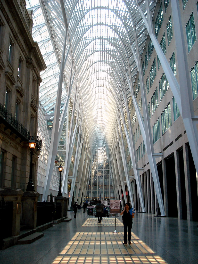 Brookfield Place-Allen Lambert Galleria | An interior shot o… | Flickr
