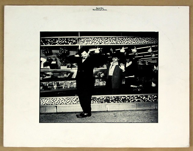 "SPARKS TERMINAL JIVE 12"" LP VINYL"