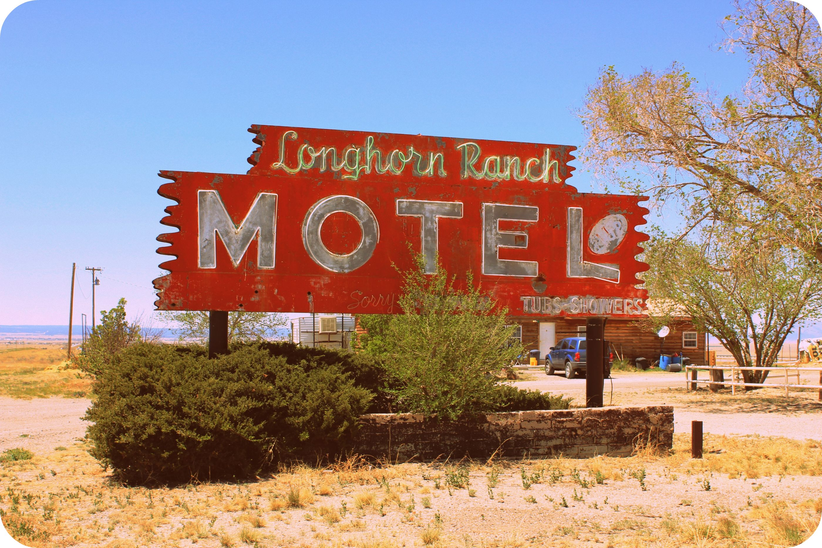 Longhorn Ranch Motel - Moriarty, New Mexico U.S.A. - April 30, 2011