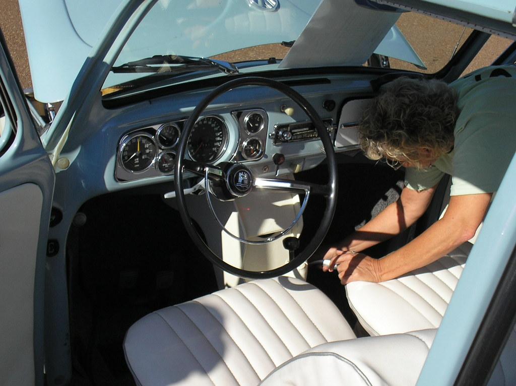 1967 VW Beetle Sedan, interior | Owner: Jan Roberts of ...