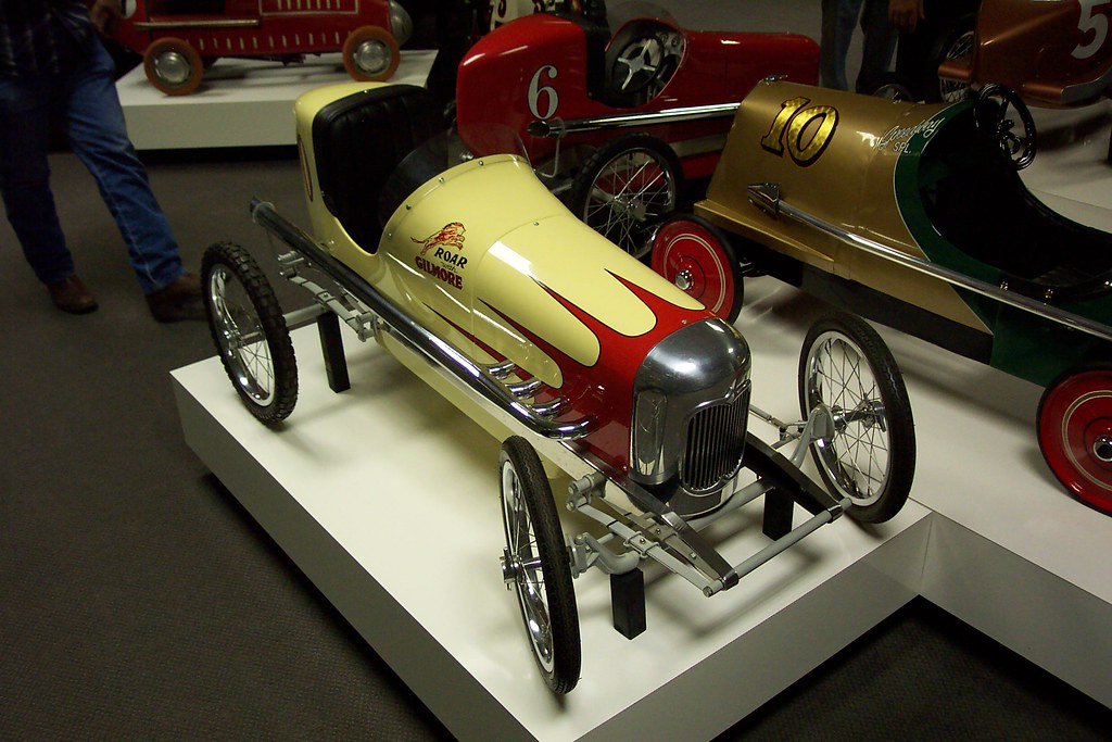 Art Car Museum >> Gilmore Racing Styled Pedal Car | Museum of American Speed, … | Flickr