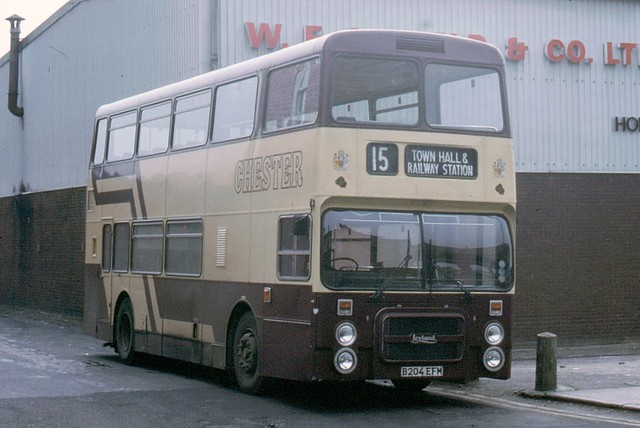 Chester 4 (B204 EFM) | Leyland Olympian/Northern Counties ...