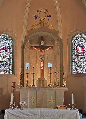 Saint Joseph Roman Catholic Church, in Zell, Missouri, USA ...