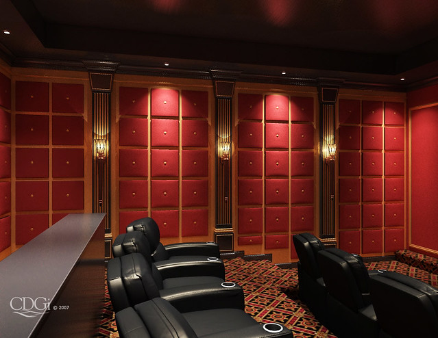 rosetta theater design home theater interior design conc