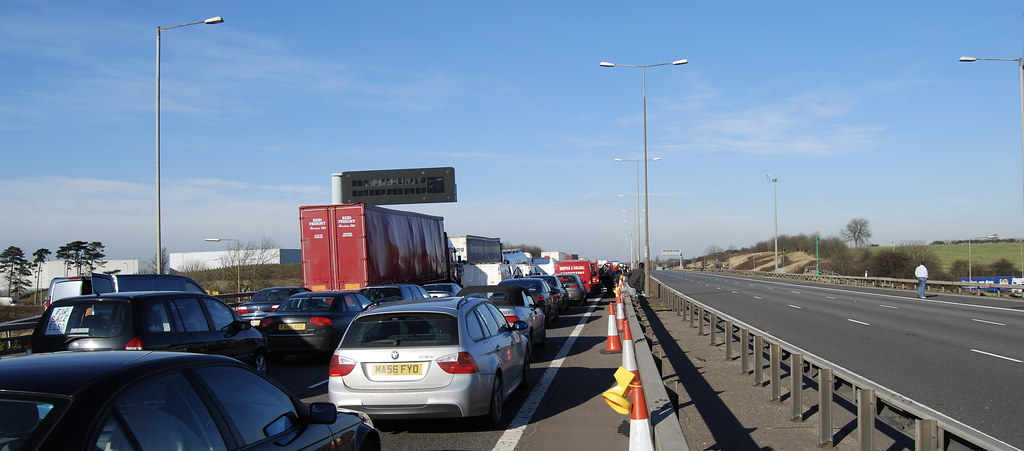 M1-Shut_08022008 jpg | The M1 was closed due to an accident … | Flickr