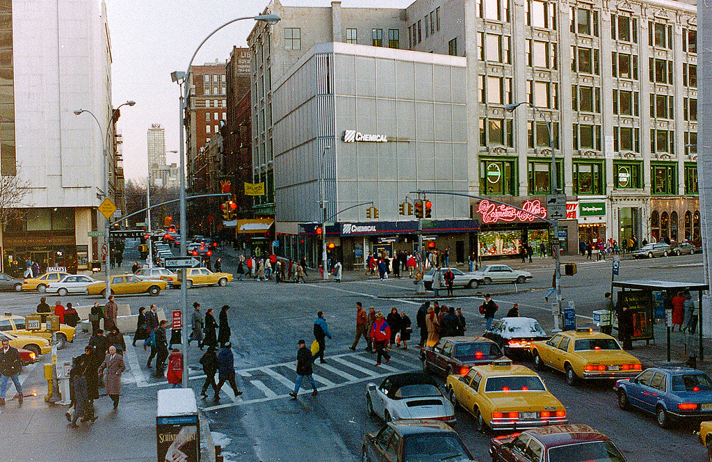 Broadway At West 65th Street December 13 1993