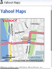 locify show my location yahoo maps