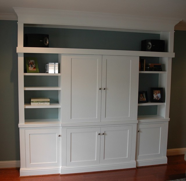 Custom Kitchen Cabinets Houston: Custom Entertainment Center By Jared Meadors At Custom