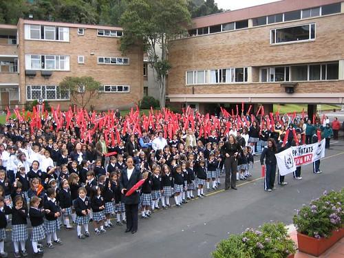 Rally event gimnasio femenino school bogota colombia for Gimnasio femenino