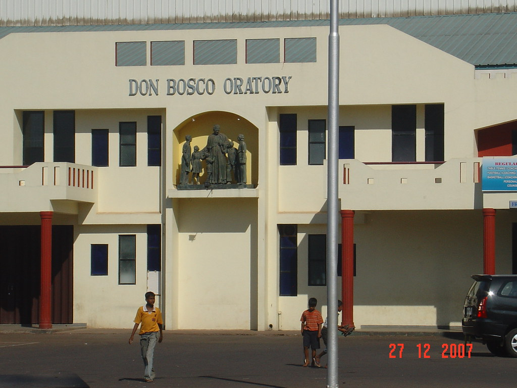 Don Bosco Oratory Panjim Goa India Don Bosco Oratory