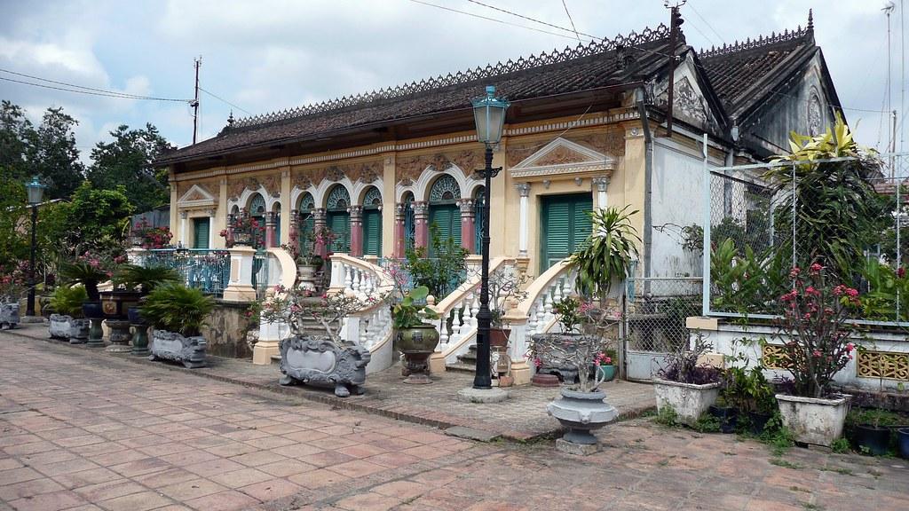 Maison De Lquipe De Tournage Du Film LAmant  Maison Ou S  Flickr