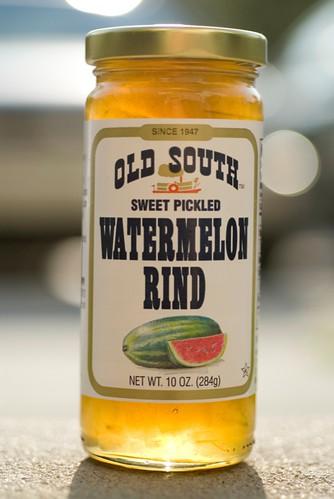 watermelon rind preserves history