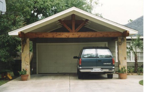 Carport With Flagstone Columns Scott Ward Flickr