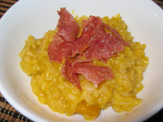 Kabocha Risotto with Fried Salami | by Kevin - Closet Cooking