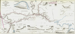 Map of Part of the Valley of Red River North of the 49th Parallel (1858) | by Manitoba Historical Maps