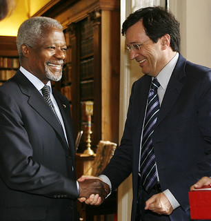 Claudio Martini con Kofi Annan | by Claudio Martini