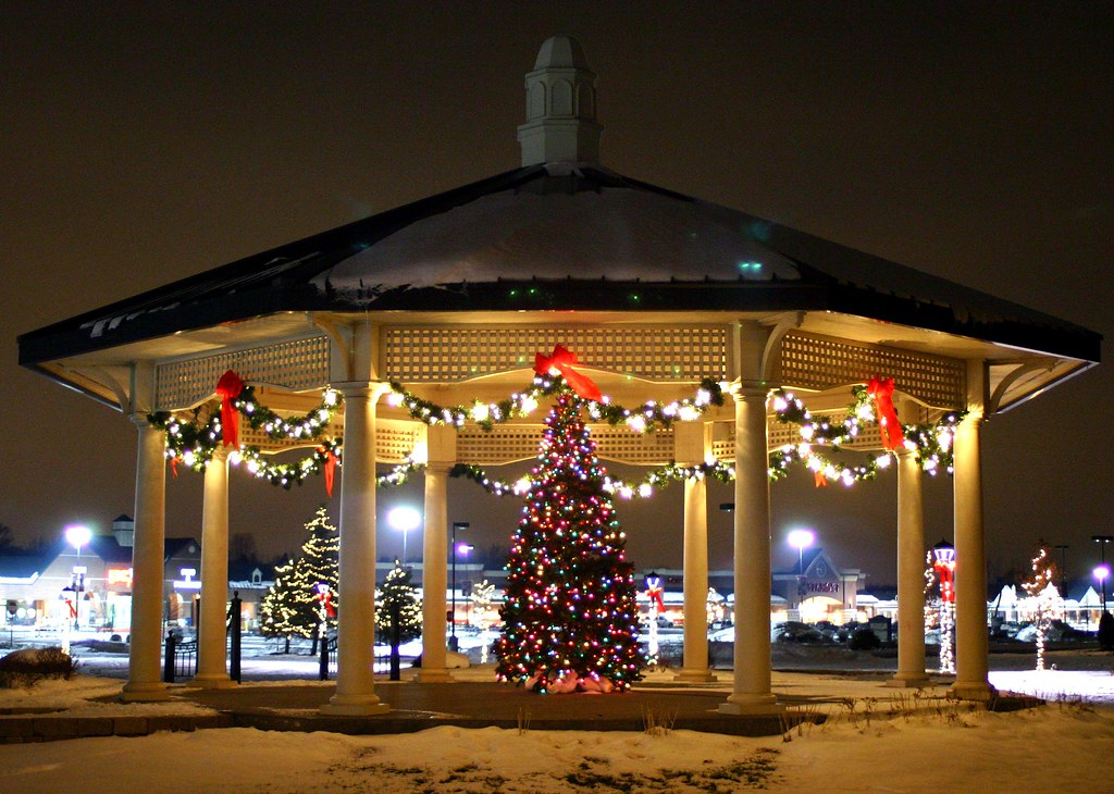 Christmas gazebo a in fayetteville new york