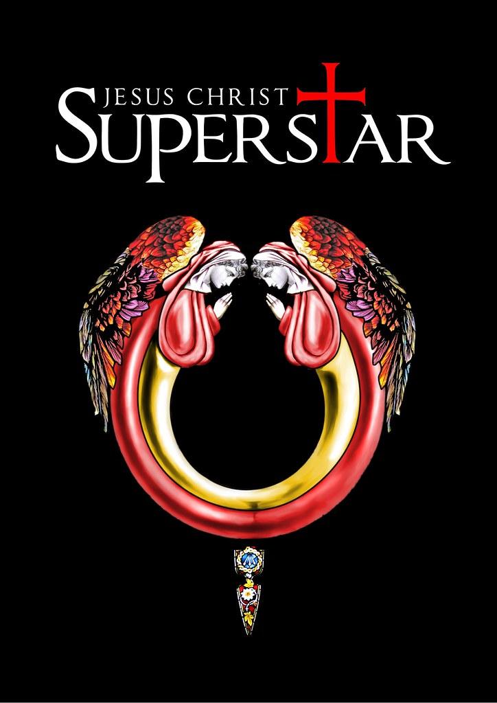 jesus christ superstar logo artwork for an amateur