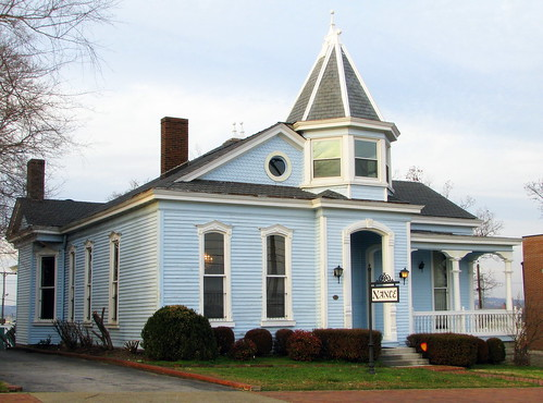 Old Light Blue House Rutledge Hill One Of The