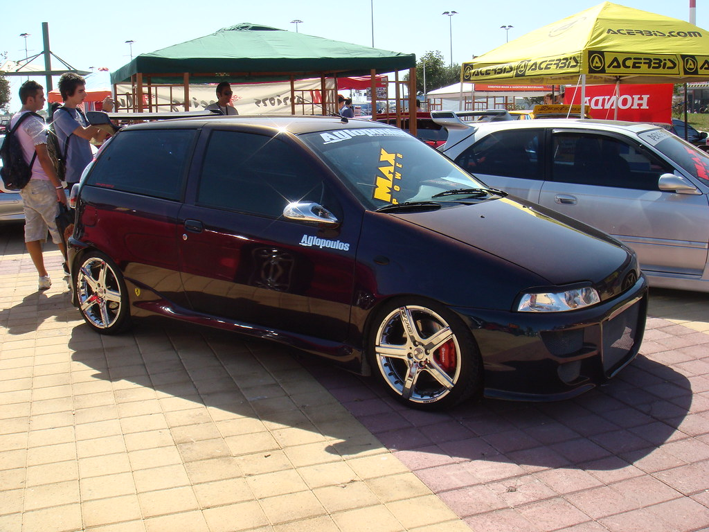 fiat punto gt athens tuning show 3 2007 chrissennapap. Black Bedroom Furniture Sets. Home Design Ideas