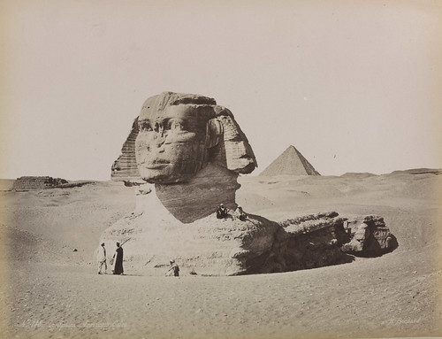 'Le Sphinx Armachis, Caire' (The Sphinx Armachis, Cairo) | by National Science and Media Museum