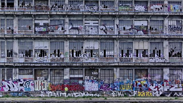 Canal de l 39 ourcq pantin entrep ts de la chambre de - La chambre de commerce et d industrie de paris ...