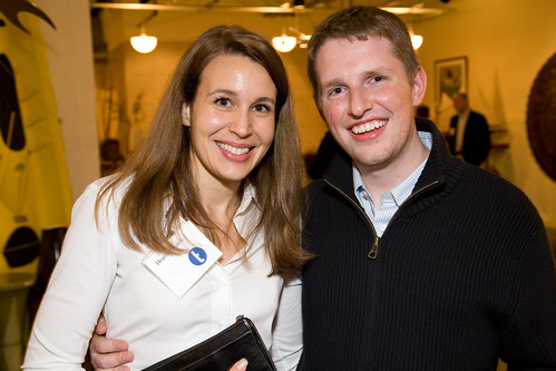 Heather Harde of TechCrunch with WordPress Founder Matt Mullenweg | by True Ventures