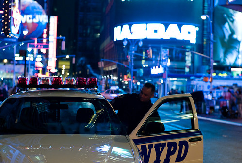 NYPD @ Times Square | by Joi